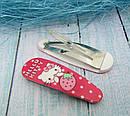 Набор резиночки + заколки Китти 4 предмета 5 набор/уп, фото 9
