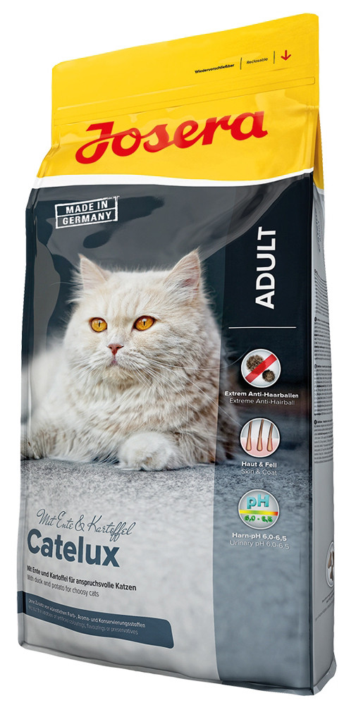 Корм для длинношерстных кошек Josera Catelux