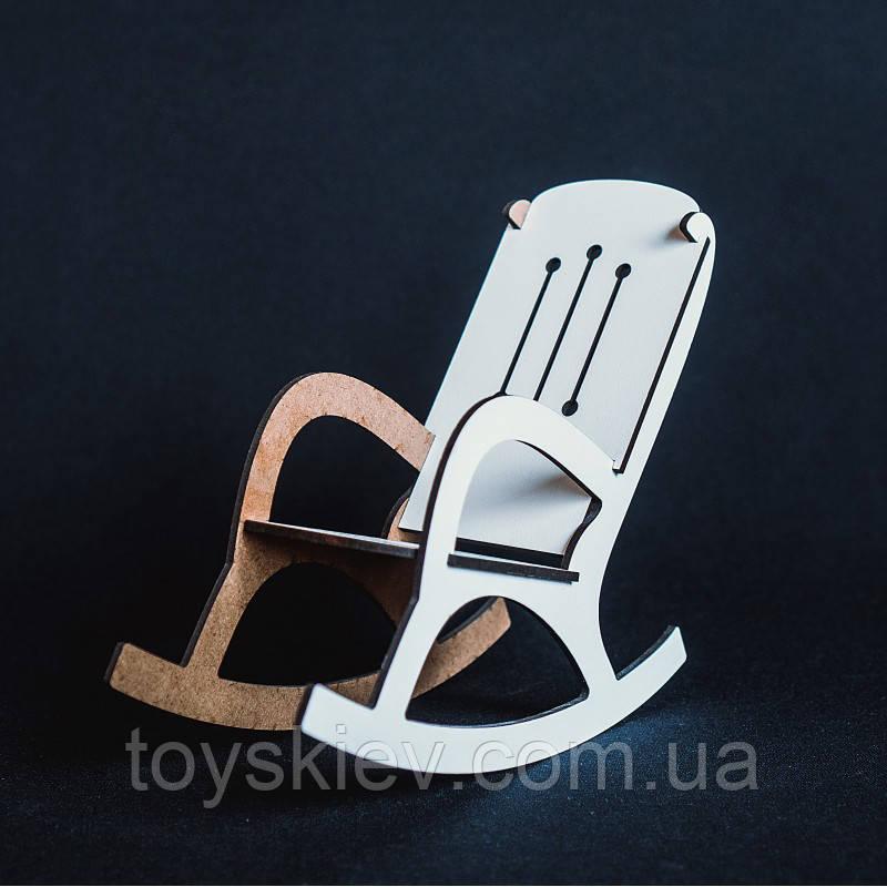 Кукольная мебель BigEcoToys Кресло-качалка 17621