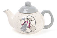 """Чайник керамический """"Love Cat"""" 790 мл, сервировочный чайник для заварки с рисунком"""