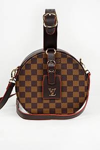 Классика Louis Vuitton круглая коричневая