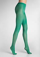 Разноцветные женские колготки TONIC 40 (в расцветках) verde, 4