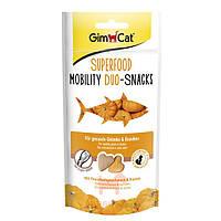 Gimpet (Джимпет) Superfood Duo-Sticks - дуо-снек Сердечки для кошек с тунцом и тыквой