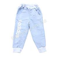 Спортивные штаны с начесом Adidas 92-98см