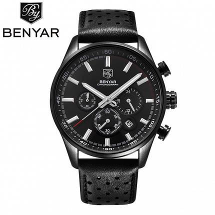 Часы мужские Benyar Grand Black, фото 2