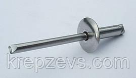 Заклепка Ф3.2 DIN 7337 зі збільшеним буртиком