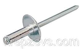 Заклепка Ф4 DIN 7337 с увеличенным буртиком