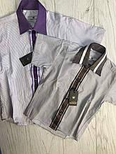 Рубашка тениска, одежда для мальчиков 98-164