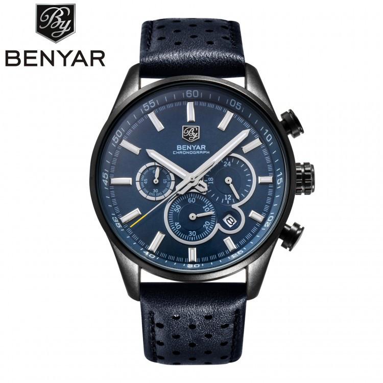 Часы мужские Benyar Grand Blue eps-1018