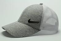 Бейсболка Nike сетка белая