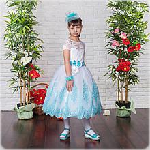 Красивое бальное платье для девочки(32,34)