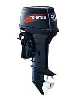Двухтактный лодочный мотор Tohatsu M50C(бензомотор для лодки, навесной бензомотор)