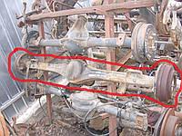 Мост задний R14 однокатковый 93VB4001LA б/у на Ford Transit  2.5D год 1991-2000 (4:56)