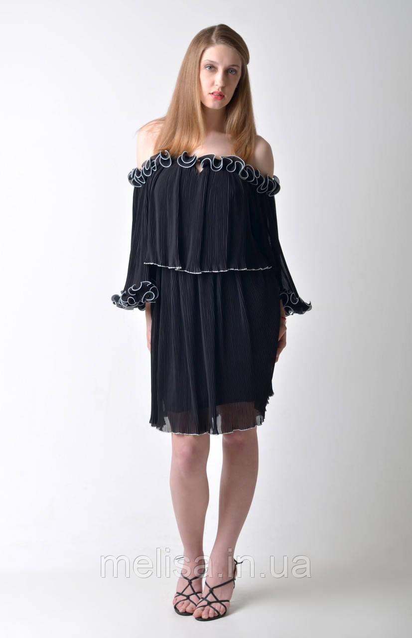 0488948f6ce Дорогое черное платье Amodediosa - Интернет магазин женской одежды Melisa в  Харькове