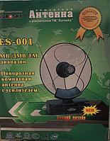 Комнатная антенна Еurosky ES-001 T2 активная 220V