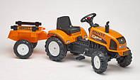 Детский трактор на педалях с прицепом RENAULT CELTIS 436RX Falk 2045C, фото 1