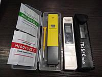 Прибор для определения чистоты TDS (ТДС) метр - кондуктометр ( солемер ) + PH метр ( РН-009)