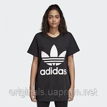 Свободная футболка adidas Oversize Trefoil Tee CE2436
