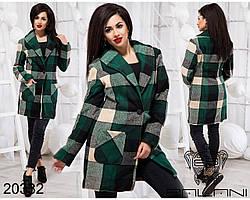 Короткое пальто на пуговице Производитель Украина интернет-магазин женской одежды Россия СНГ р.42-46