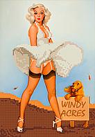 Схема для вышивки бисером Красотка Уинди, фото 1