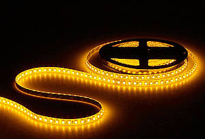 Світлодіодна стрічка SMD 3528/120 12V жовта P20 Код.52401