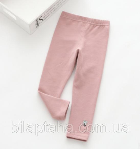 """Лосины детские """" Цветочек"""" розовые"""