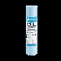 """Картридж полипропиленовый Ecosoft с бактериостатическим эффектом 2,5""""х10"""", 5 мкм"""