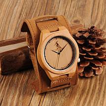 Часы деревянные мужские Bobo Bird Decus, фото 2