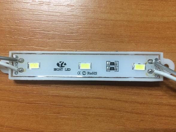 Светодиодный модуль SMD 5630 3CW 120* белый холодный IP65 Код.55199