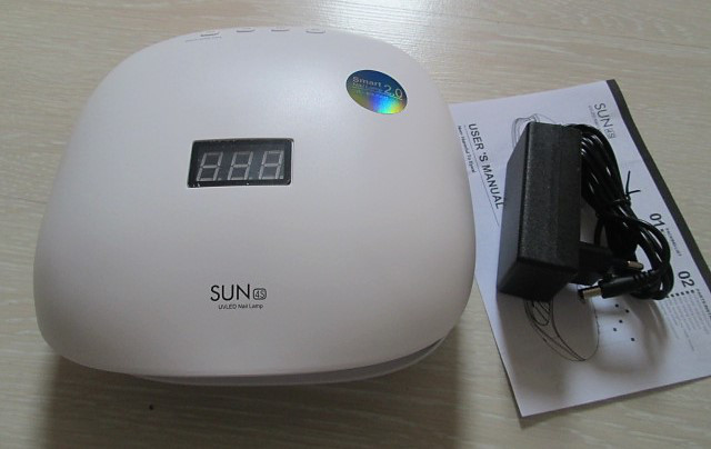 Маникюрная UV/LED лампа SUN4S SMART 2.0