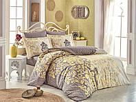 Комплект постельного белья  Hobby поплин размер евро Mirella каппучино