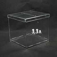 Ящик для пожертвований 150/150/150мм 3,3литра