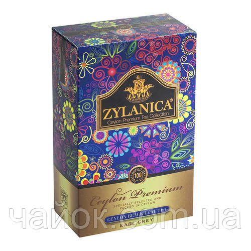 Чай ZYLANICA Ceylon Premium Collection Бергамот FBOP 100 гр