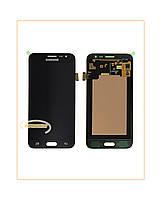 Дисплей Samsung J320H Galaxy J3 Duos (2016) с тачскрином Black