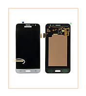 Дисплей Samsung J320H Galaxy J3 Duos (2016) с тачскрином White