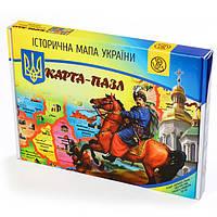 Карта - пазл «Историческая карта Украины» | Uteria | Развивающий пазл , фото 1