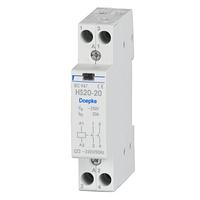 Контактор модульный Doepke HS 20-20 (24 В) 1 мод., 20 А, контакты: 2 NO, dp09980401