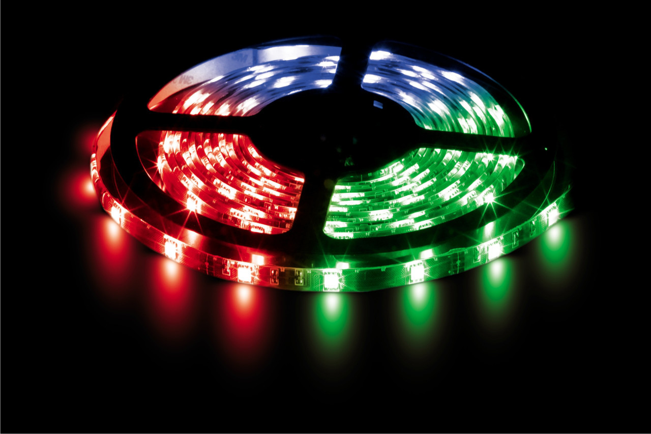 Світлодіодна стрічка Premium LS 606 SMD 5050/30 RGB-IP20 Код.57486