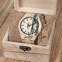 Часы деревянные мужские Bobo Bird Fire, фото 3