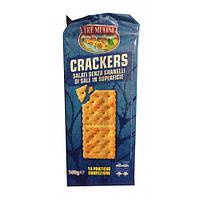 Крекеры салатные Tre Mulini Crackers 500g