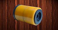 Опорный транспортировочный ролик Ø59,5хØ14,5х81 мм для автоматических линий мойки стекла