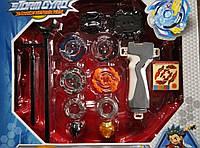 Набор Бейблейд (Beyblade Storm Gyro S3) + арена: Хорусуд, Роктавор, Кербеус, Думсайзор