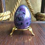 Яйцо из чароита 5,5 см. (L), фото 6