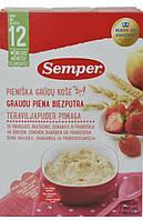 Молочная мультизлаковая каша с фруктами, ягодами и пробиотиками Semper, 250 г