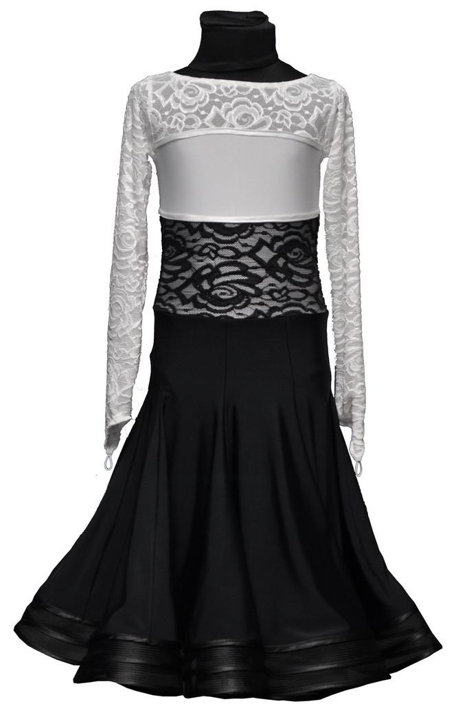 Рейтинговое платье (бейсик)  для девочки цвет