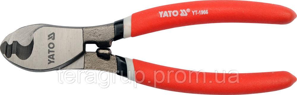 Кабелерез Ømax-6мм, L-160мм, YATO YT-1966, фото 1
