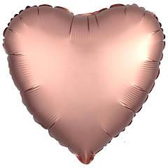 """Фольгированные шары Сердце 18"""" Flexmetall ОПТ"""