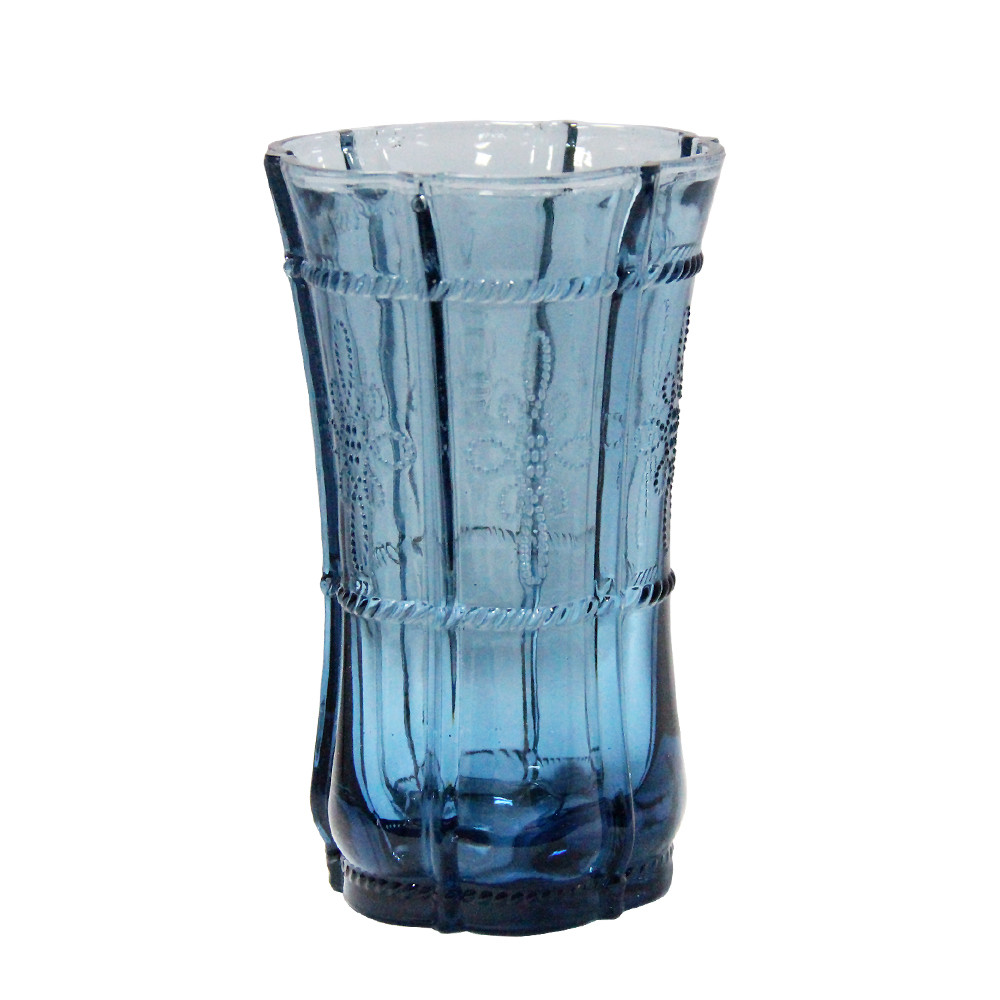 Граненый стакан Ариэль из цветного стекла, 200 мл