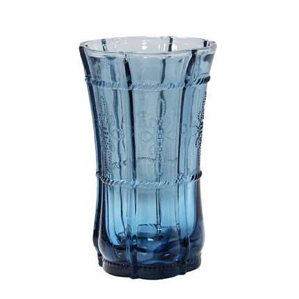 Граненый стакан Ариэль из цветного стекла, 200 мл, фото 2