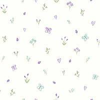 Butterfly Garden Cream_Heather